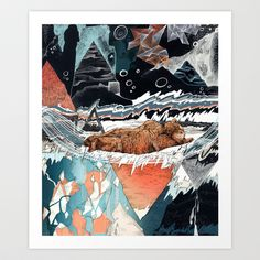 Seconds Behind Art Print by Sandra Dieckmann - $18.00