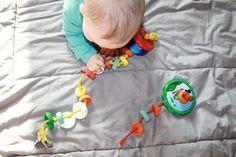 DIY Baby Spielzeug basteln 025