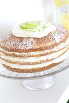 Bolo Mousse de Limão | Vai Comer o Quê?