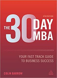 30 Day Mba : Your Fast Track Guide to Business Success (Paperback) (Colin Barrow) Latest Books, New Books, Books To Read, 80 20 Principle, Organizational Behavior, Book Format, Ebook Pdf, 30 Day, Economics