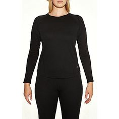 Terramar 2-Layer Authentic Thermal Mid-Weight Long Sleeve Crew