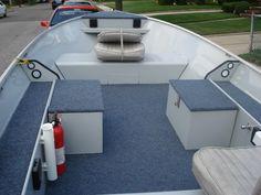 15 foot aluminum boat rebuilt | Uniqe aluminum boat rebuild technics and My 191 cc Sea Nymph Striper ...