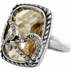 """Tender Hearts Ring available at #BrightonCollectibles. BEAUTIFUL new arrival! Available in """"Build Your Own"""" option. Pick from various stones/colors."""