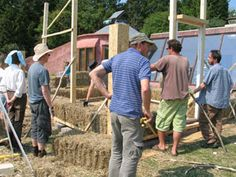 straw bale building course in Brighton for over 16 yrs old