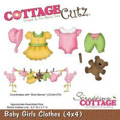 Baby Girls Clothes CottageCutz - Timbroscrapmania