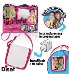 Fototransfer Mini daily bag  Diset Más info en http://www.circulo.es/hogarcocina/diset-fototransfer-mini-daily-bag/06758