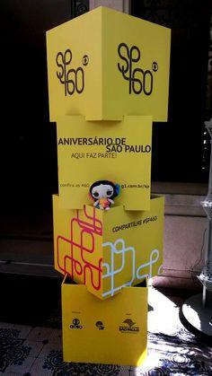 María viaja a Sao Paulo en el 460 aniversario de su fundación. (2014)  #ArtesaniasMexicanas #kawaii #MariasINC #SaoPaulo #Brazil