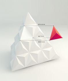 Eye Catching Trivalent Logo Design by Nina Geomerieva