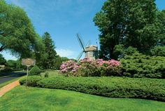 East Hampton Village, NY: One of the many historic windmills found throughout the Hamptons. Photo by Brown Harris Stevens of the Hamptons.