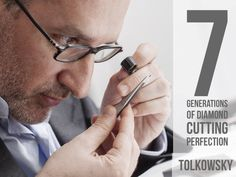 Jean-Paul Tolkowsky, seventh generation of the most famous name in diamond cutting. Perfecting the ideal cut diamond with the introduction of the Ideal Cut Princess and turning Tolkowsky into a global brand Ideal Cut Diamond, Diamond Cuts, Famous Names, Global Brands, Turning, Gemstones, Princess, Gems