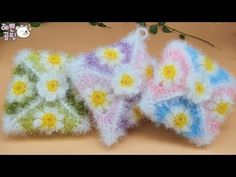 [코바늘뜨개crochet] 데이지 모티브 사각 수세미Crochet Dish Scrubby - YouTube Knitting Videos, Baby Socks, Knitting Socks, Knitting Patterns, The Creator, Crochet, Korean, Knit Socks, Knit Patterns