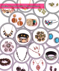 Great amazing Jewelery designs from all over the world are here... I am loving it yaar... http://khoobsurati.com/jewellery