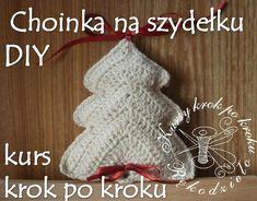 Free Crochet Pattern! Choinka na szydełku, Boże Narodzenie, DIY - krok po kroku.