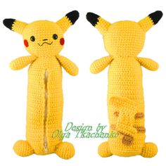 Knitted pencil case for girls and boys - school fashion accessory in the form of a popular hero of the game pokemon GO - Pikachu! Every child wants to be special among your friends, so exclusive things exist in this world. Pencil roomy. It is in the form of Pikachu figurines. Originality - a matter of taste! The foam can be used as a cosmetic case or for hooks and other small things. Bright gift for the new school year
