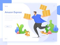 WEB-Express by Jenson9 - Dribbble