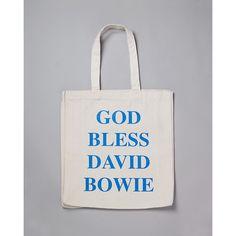 God Bless David Bowie Handbag