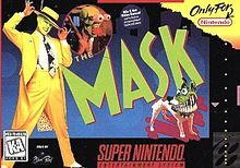 The Mask (video game) Playstation, Mask Film, Super Nintendo Games, Game Info, Some Games, Video Film, Dark Horse, Book Series, Birthday Wishes