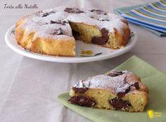 TORTA ALLA NUTELLA #Nutella #cake #dolce #torta #foodporn #ricetta #recipe #senzaglutine #glutenfree #ilchiccodimais http://blog.giallozafferano.it/ilchiccodimais/torta-alla-nutella-ricetta-dolce-veloce/