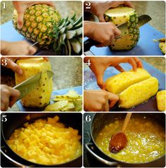 Making Pineapple Marmalade Filling! (recipe) *TIP: this recipe can used for just about any fruit (use for toppings, pie fillings, cake fillings, cupcake fillings, custards etc :) and u use the same exact technique for ALL fruits ;