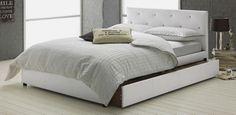 Buy Hygena Bosley Grey Bed Frame - Kingsize at Argos.co.uk, visit Argos.co.uk to shop online for Headboards, Bed frames