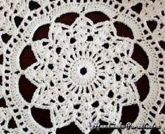 Miseczki wykonane z koronki - Mimuu.com Crochet Earrings, Handmade, Crochet Flowers, Amigurumi, Hand Made, Handarbeit