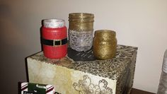 Candle jar pictured not lighted