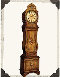 Pine Gustavian Floor Clock Ethan Allen Furniture