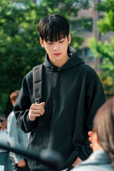 cha eun woo my id is gangnam beauty wallpaper Suho, K Drama, Moorim School, Cha Eunwoo Astro, Astro Wallpaper, Wallpaper Lockscreen, Lee Dong Min, Handsome Korean Actors, Applis Photo