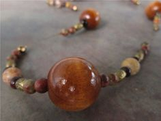 Jewelry made from natural elements.Vintage pieces reused to make modern fashion jewelry.