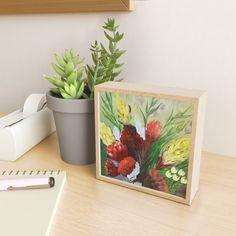 FYNBOS Framed Mini Art Print Rustic Feel, Maple Hardwood, Decor Styles, Gallery Wall, Home Decor, Decorative Tray, Frame, Adding Art, Prints