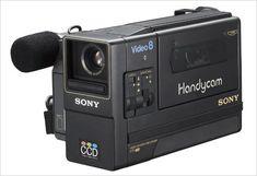 Sony Handycam Video 8 CCD-M8, NTSC