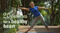 20 Yoga postures for a healthy heart | Healthy Heart Exercises