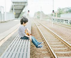 me and my guitar #6 by Hideaki Hamada, via Flickr