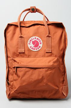 The Kanken Backpack in Brick by Fjallraven I don't know what it is about this backpack, but I bought it! Love it!