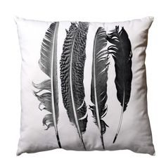 cushion with print from Bloomingville. www.bloomingville.com