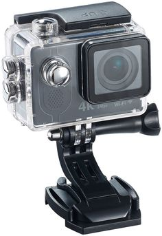 Somikon 4K-Action-Cam mit UHD-Video