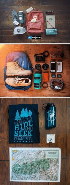 Everyone loves a good camping supply flat-lay, right? Grab your map, camera, hiking boots, and most importantly your Nalgene water bottle and get outdoors! #NalgeneAbroad #Adventure #Wanderlust #Packing   Thanks to @chattanoogaonthefly @visitncsmokies @geraldtipones on Instagram for the great photos!