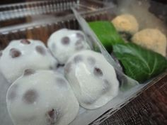 Daifuku mochi balls
