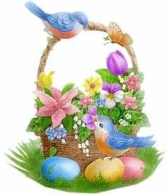 mes creations 2015 - Page 3 Happy Easter, Easter Bunny, Easter Eggs, Ostern Wallpaper, Easter Flower Arrangements, Easter Paintings, Lilo E Stitch, Easter Greeting Cards, Easter Pictures