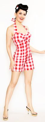 1940s & 1950s Style Vintage Rompers and Retro Playsuits