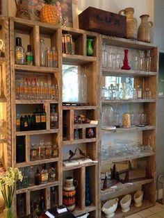 I want this sooooo bad! woodworks1066-scaffold board-reclaimed wood-furniture
