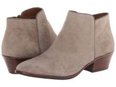 Sam Edelman Petty Putty Beige Suede Fashion Ankle Boots Shoes 7.5 New #SamEdelman #FashionAnkleBoots