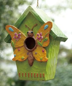 Take a look at this Butterfly Birdhouse by Transpac Imports on #zulily today!