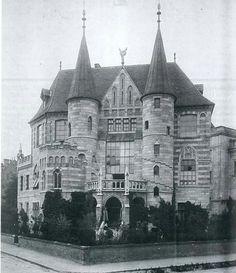 1928. Zichy Géza utca 10. Låszló Fülöp műteremháza.