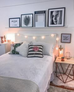 143 cute and girly bedroom decorating tips for girl page 25 Girl Bedroom Designs, Modern Bedroom Design, Room Ideas Bedroom, Bedroom Inspo, Bedroom Decorating Tips, Decorating Ideas, Decor Ideas, Cute Room Decor, Decorate Your Room