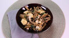 Mario Batali's Whole Wheat Pasta with Tuscan-Style Cauliflower