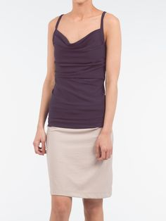 Keep your look simplistic yet modern with this Spaghetti strap blouse. Spring or summer will be the season to show off this piece. It has a straight cut , with ruffling detail along the neckline and spaghetti straps, and is a comfortable Straight Cut, Spaghetti Straps, Neckline, Detail, Formal Dresses, Blouse, Spring, Modern, Summer