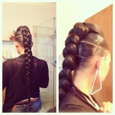 Single and Individual Braids You Must Love - goddess braids - Curly Hair Styles, Natural Hair Styles, Individual Braids, Beautiful Braids, Goddess Braids, Box Braids Hairstyles, Dance Hairstyles, Love Hair, Braid Styles