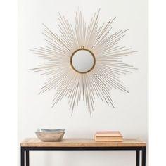 Safavieh Marinda Sunburst Braided Gold 41-inch Mirror - 16190298 - Overstock.com Shopping - Great Deals on Safavieh Mirrors
