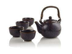 Aubergine Teapot | Teavana $59.95